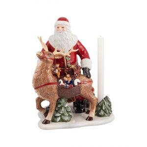 Villeroy & Boch Christmas Toys Memory Santa mit Hirsch 30 x 24 x 35 cm (noch 1x verfügbar!)