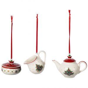 Villeroy & Boch Toy's Delight Set 3 Ornamente