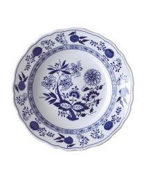 Hutschenreuther Zwiebelmuster blau Suppenteller 23 cm Fahne