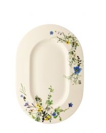 Rosenthal Brillance Fleurs des Alpes Platte 41 cm