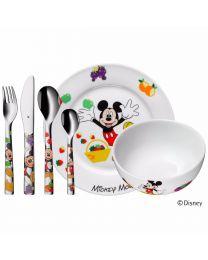 WMF Kinderbesteck Set 6 Mickey Mouse