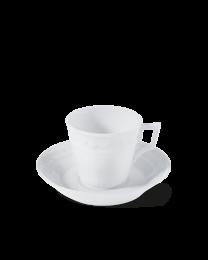 KPM Berlin Kurland weiß Kaffeetasse 2-tlg.