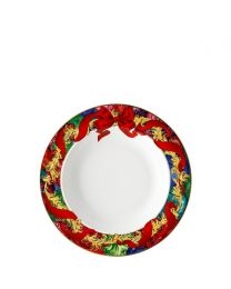 Rosenthal Versace Reflections of Holidays Suppenteller 22 cm
