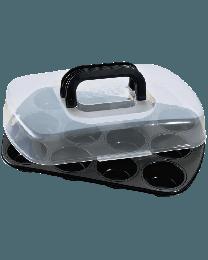Kaiser Bake & Take 12er Muffinbackform 38x 27 cm