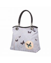 Goebel Joanna Charlotte Handtasche Grey Butterflies