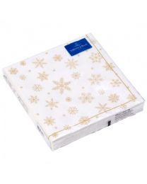 Villeroy & Boch Winter Specials Serviette L Classic Sterne 33 x 33 cm