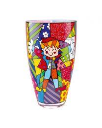 "Goebel Romero Britto Vase ""Hug Too"""