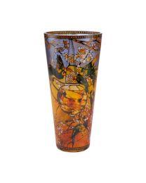 Goebel Tiffany Vase 30 cm Sittiche