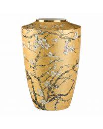 Goebel Vincent van Gogh Vase 41 cm Mandelbaum gold limitiert