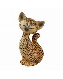 """Goebel Kitty de luxe Figur """"Leopard"""" Kitty"""