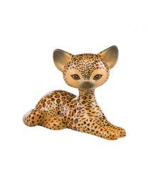 """Goebel Kitty de luxe Figur """"Leopard"""" Kitty Relaxing"""