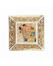 Goebel Gustav Klimt Schale 24 x 24 cm Die Erfüllung