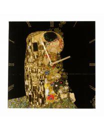 Goebel Gustav Klimt Wanduhr Der Kuss