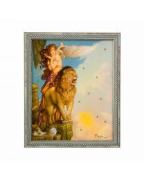Goebel Michael Parkes Wandbild Lion's Return limitiert