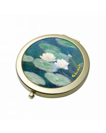 Goebel Claude Monet Taschenspiegel Seerosen am Abend