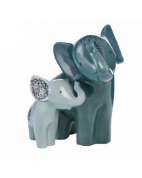 """Goebel Elephant de luxe Figur """"Boromoko & Bada"""""""