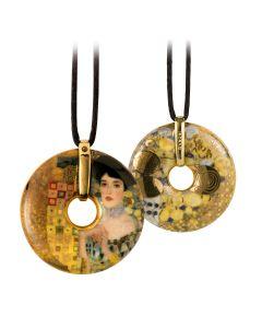 Goebel Gustav Klimt Halskette Porzellan Adele Bloch-Bauer